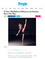 People.com | Gigi Crouch Ballerina with Scoliosis