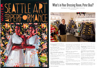 The Stranger Art & Performance Winter 2015 | What's In Your Dressing Room, Peter Boal?