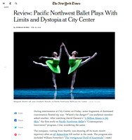 The New York Times | PNB New York City Center Tour 2016