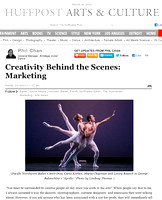 Huffington Post | Creativity Behind the Scenes Marketing