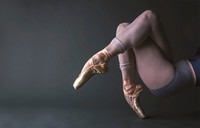Feet Portrait | Madison Taylor | Pointe Shoes