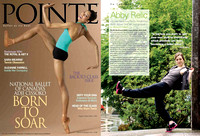 Pointe Magazine | August/September 2011 | Abby Relic